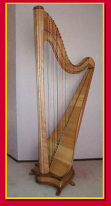 Photo of the Esther Harp